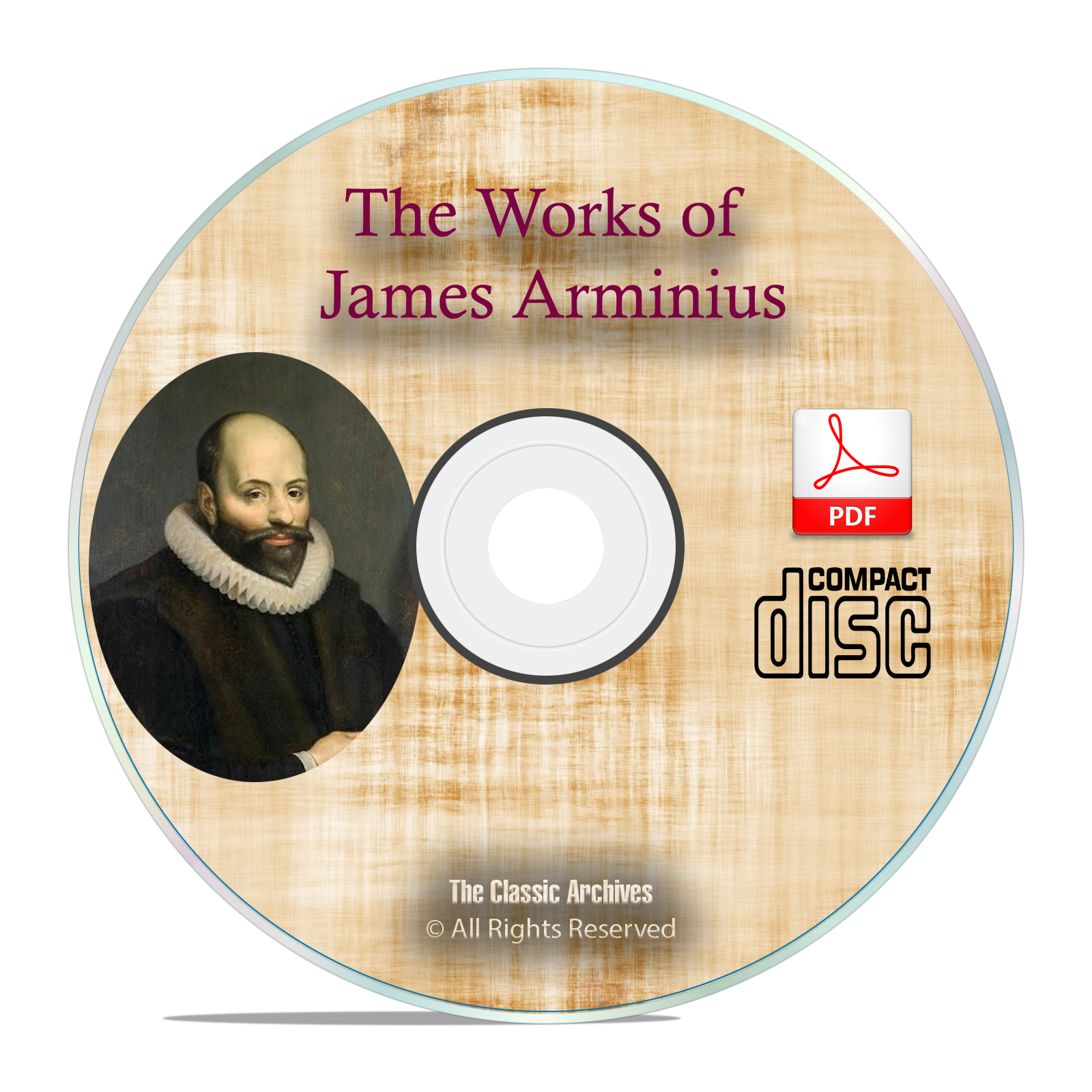 The Works of James Arminius, 3 Vol Bible Commentary Study Calvinism PDF CD