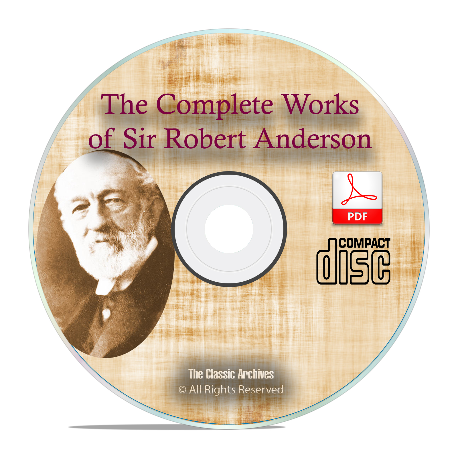 Complete Works Sir Robert Anderson, Bible Commentary, Prophecy Study God CD
