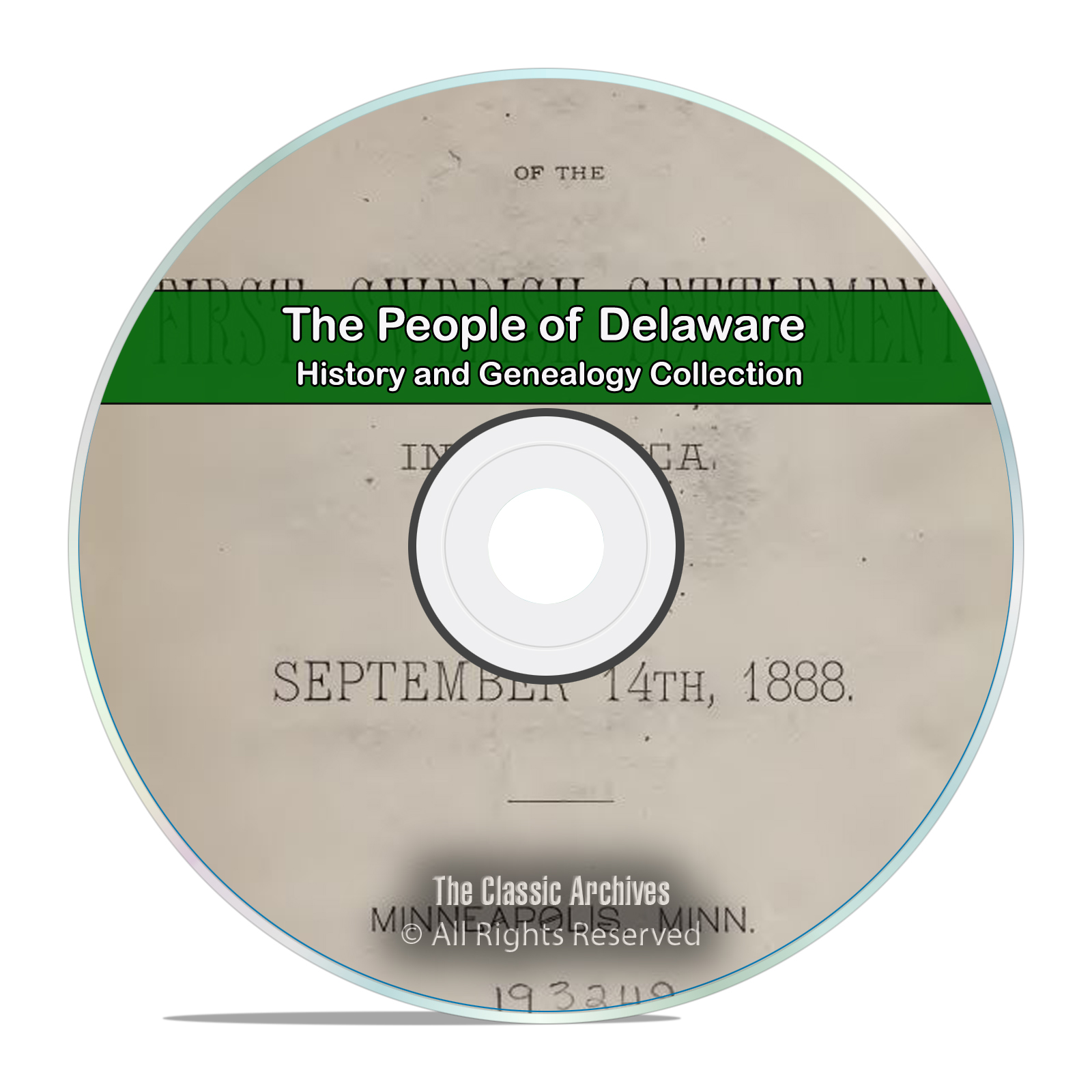 Delaware, DE People, Cities and Towns History and Genealogy 214 Books DVD