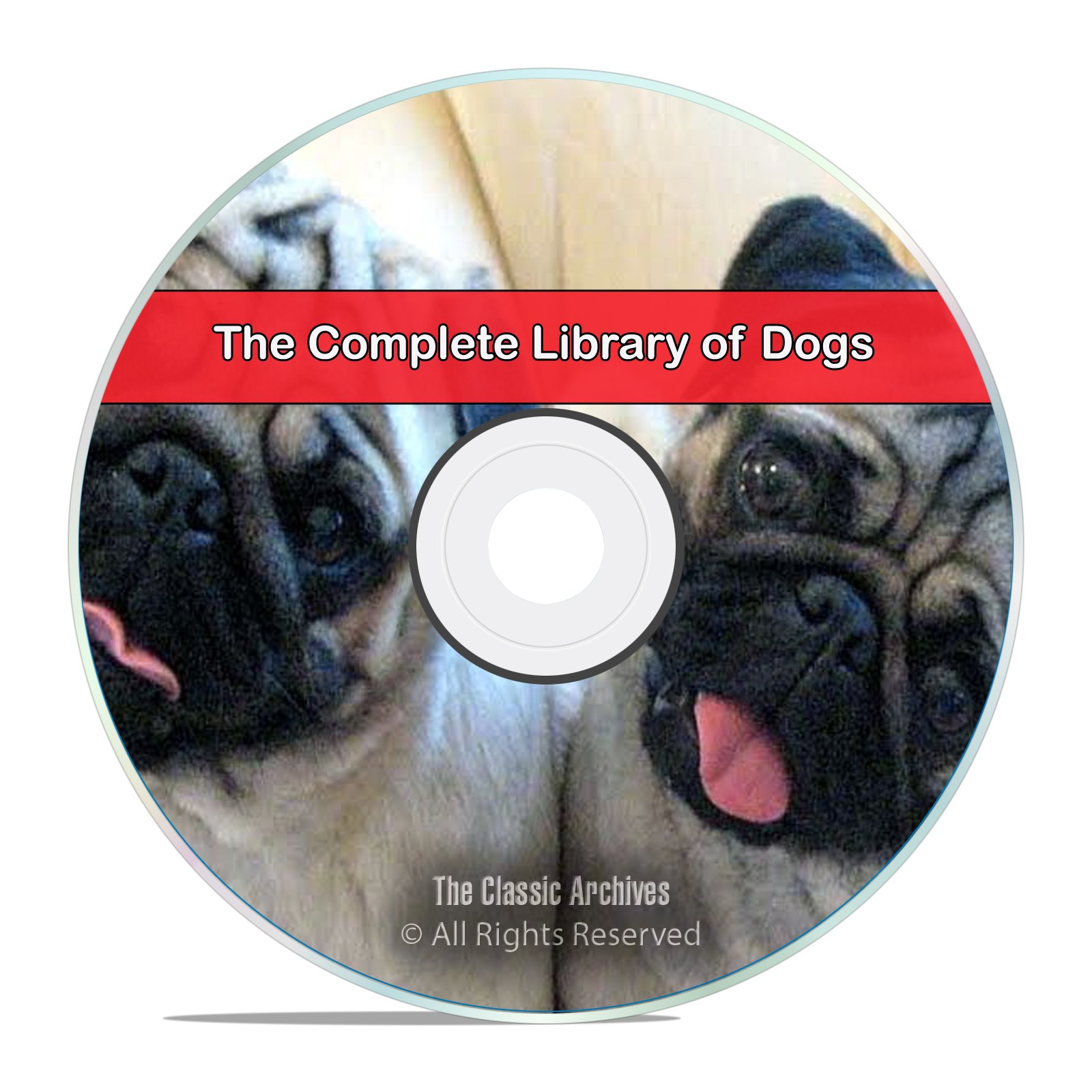 The Complete Library of Dogs, Health, Breeding, Hunt Train 110 Books CD DVD