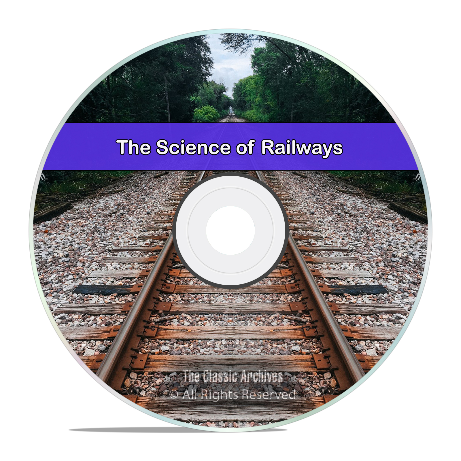The Science of Railways, 37 Volumes, Train Railroad Service PDF Books DVD