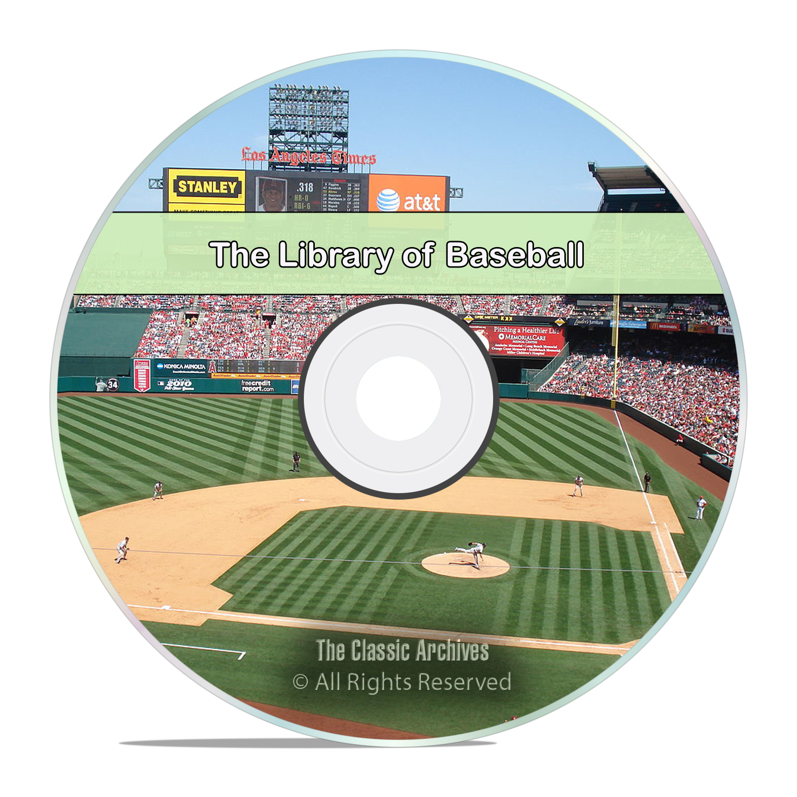 Complete Vintage Library of Baseball, 118 Books Spalding Guides History DVD