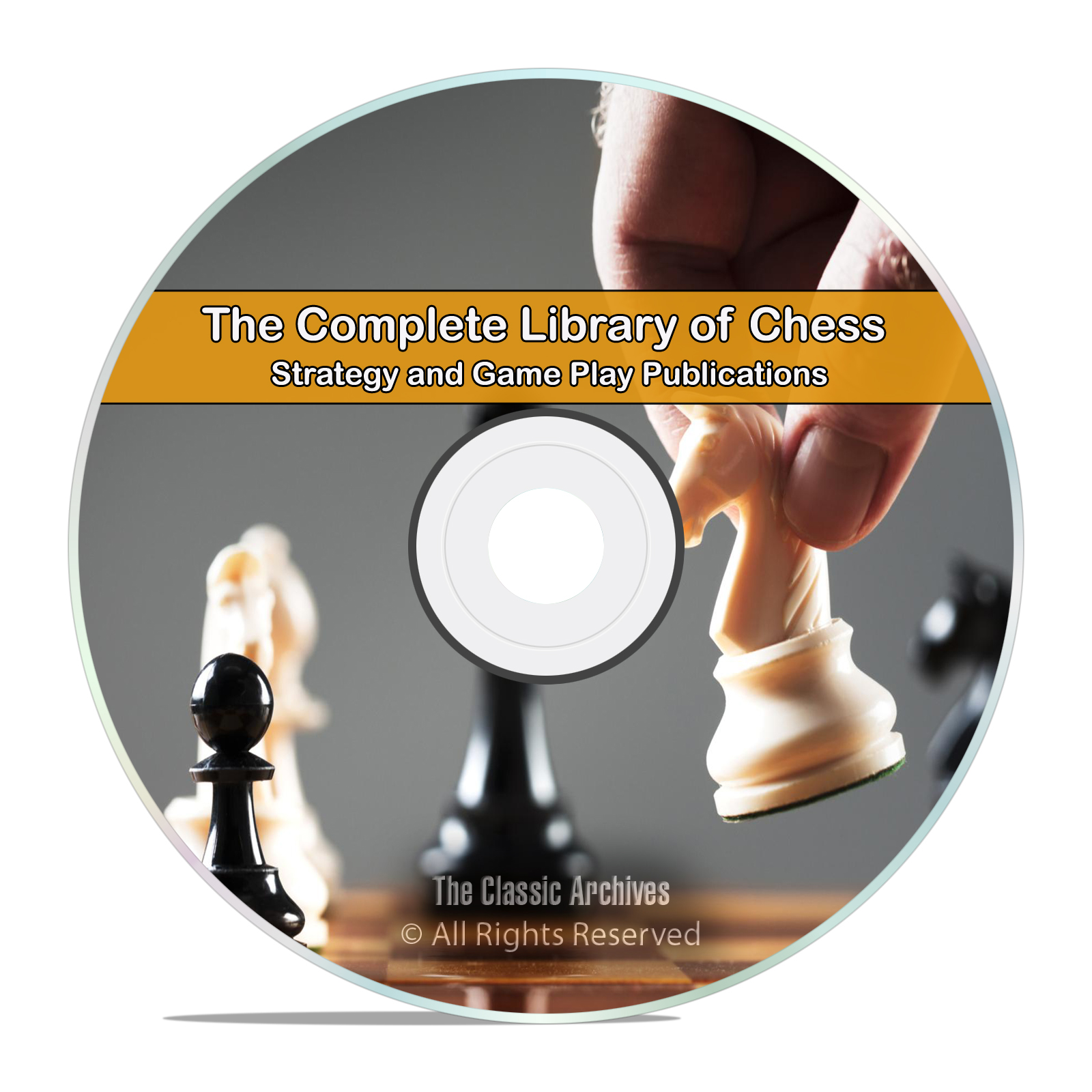 Vintage Library of Chess, 100 Books, Learn How to Play History Strategy DVD