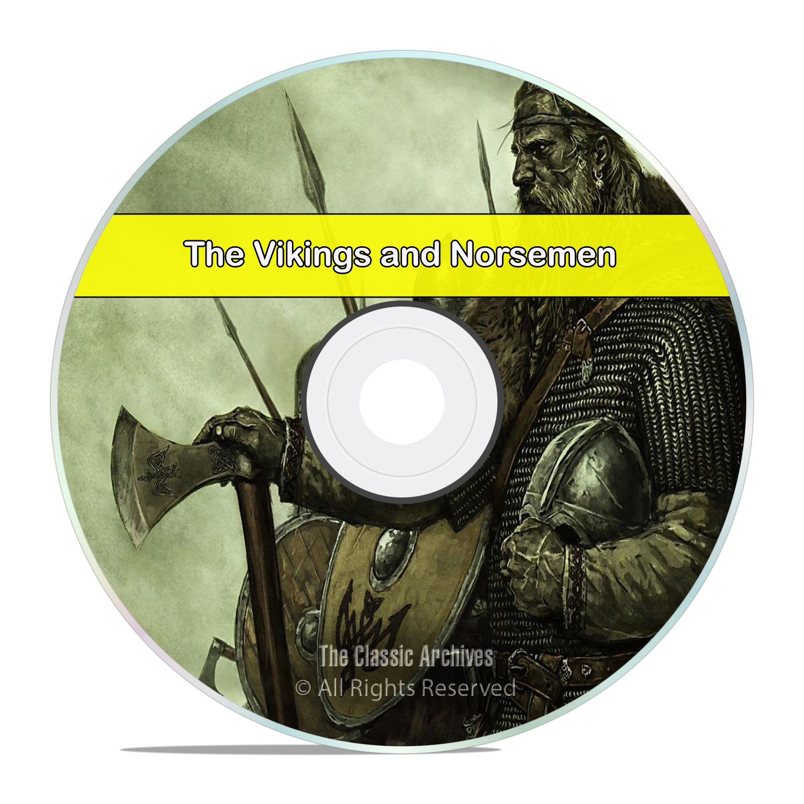 Stories & History of Vikings & Norsemen, 75 Books, Scandinavia, Ships, DVD