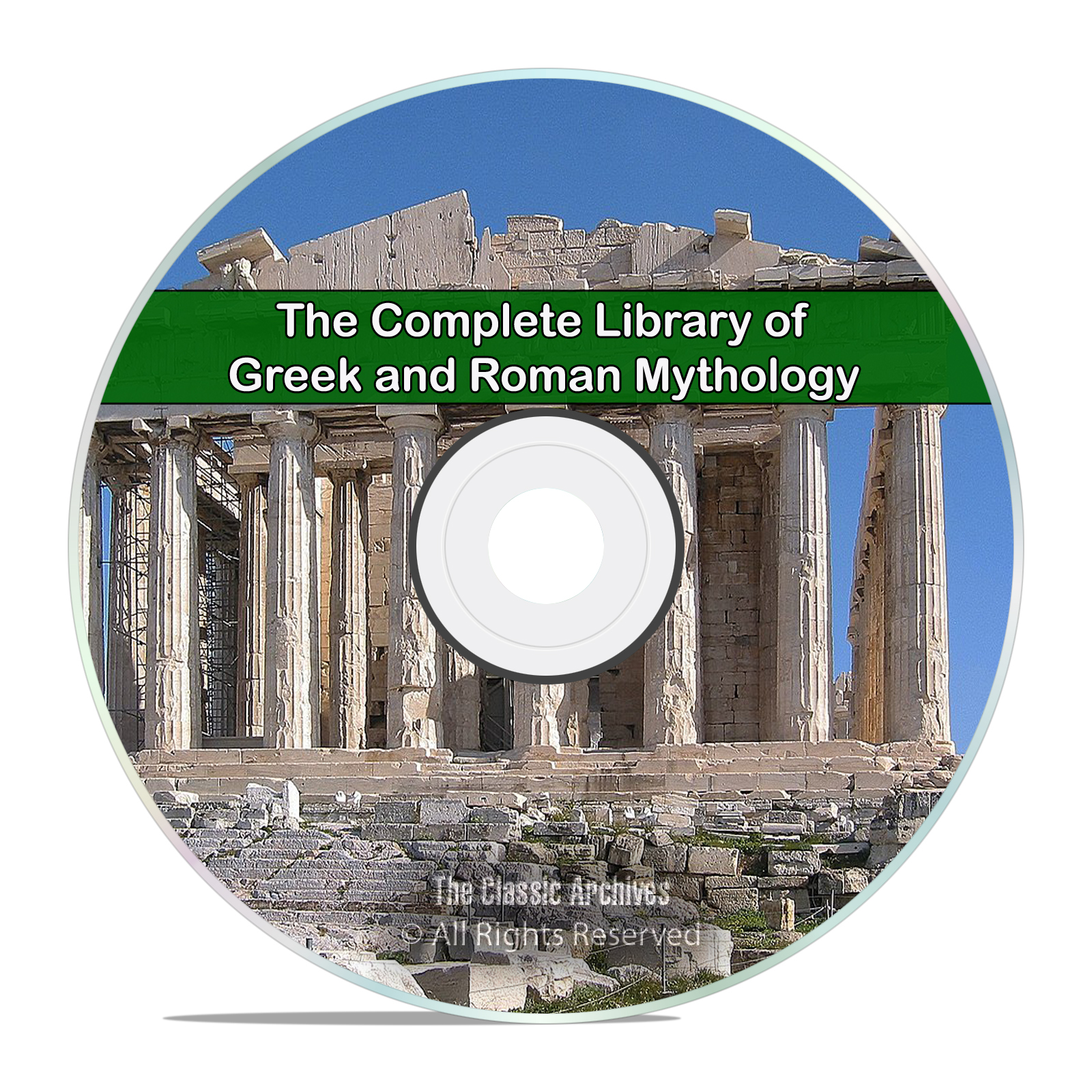 Complete Library of Greek & Roman Mythology, 31 Books on Greece Rome DVD