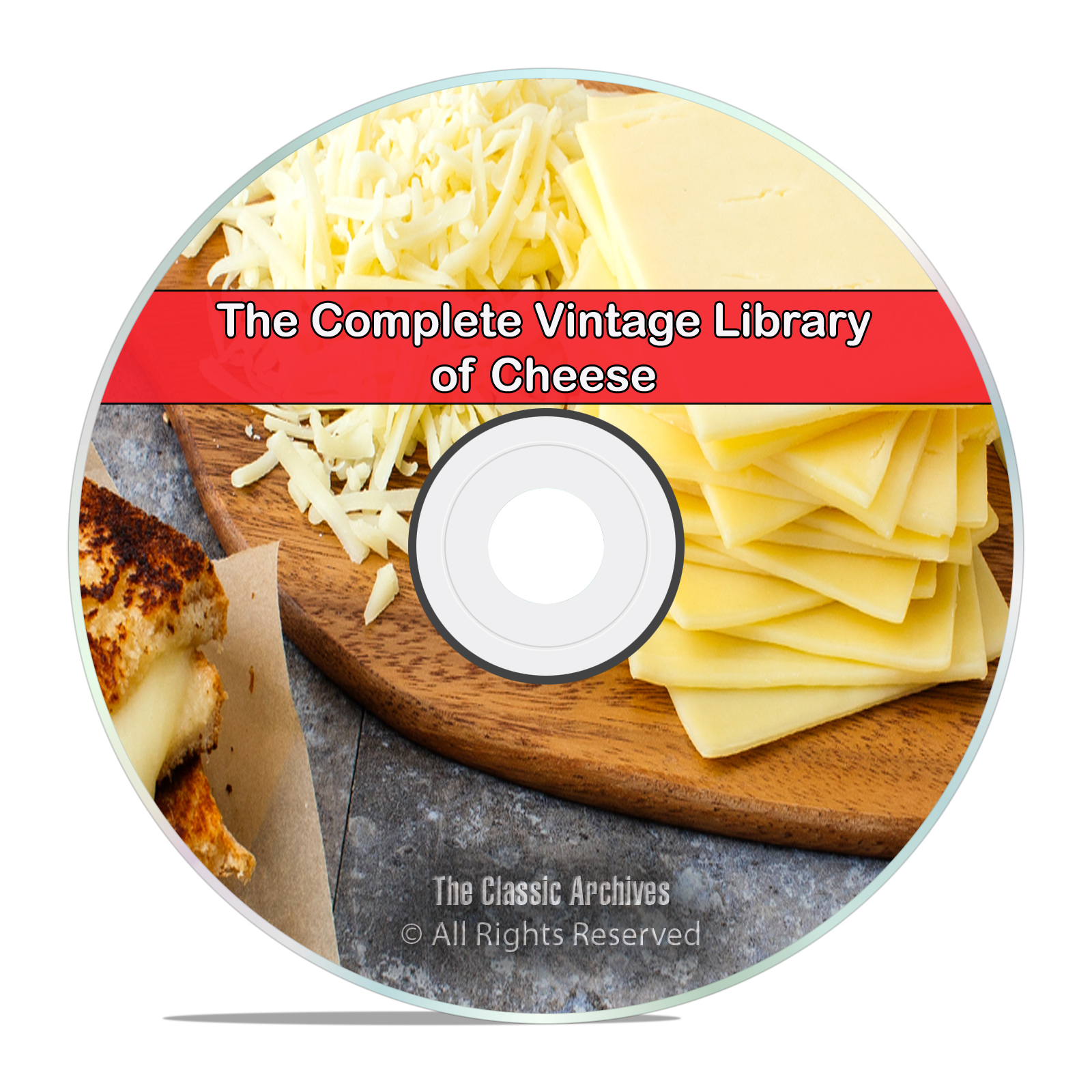 75 Books Library of Cheese & Cheese Making, How to Make Homemade DVD