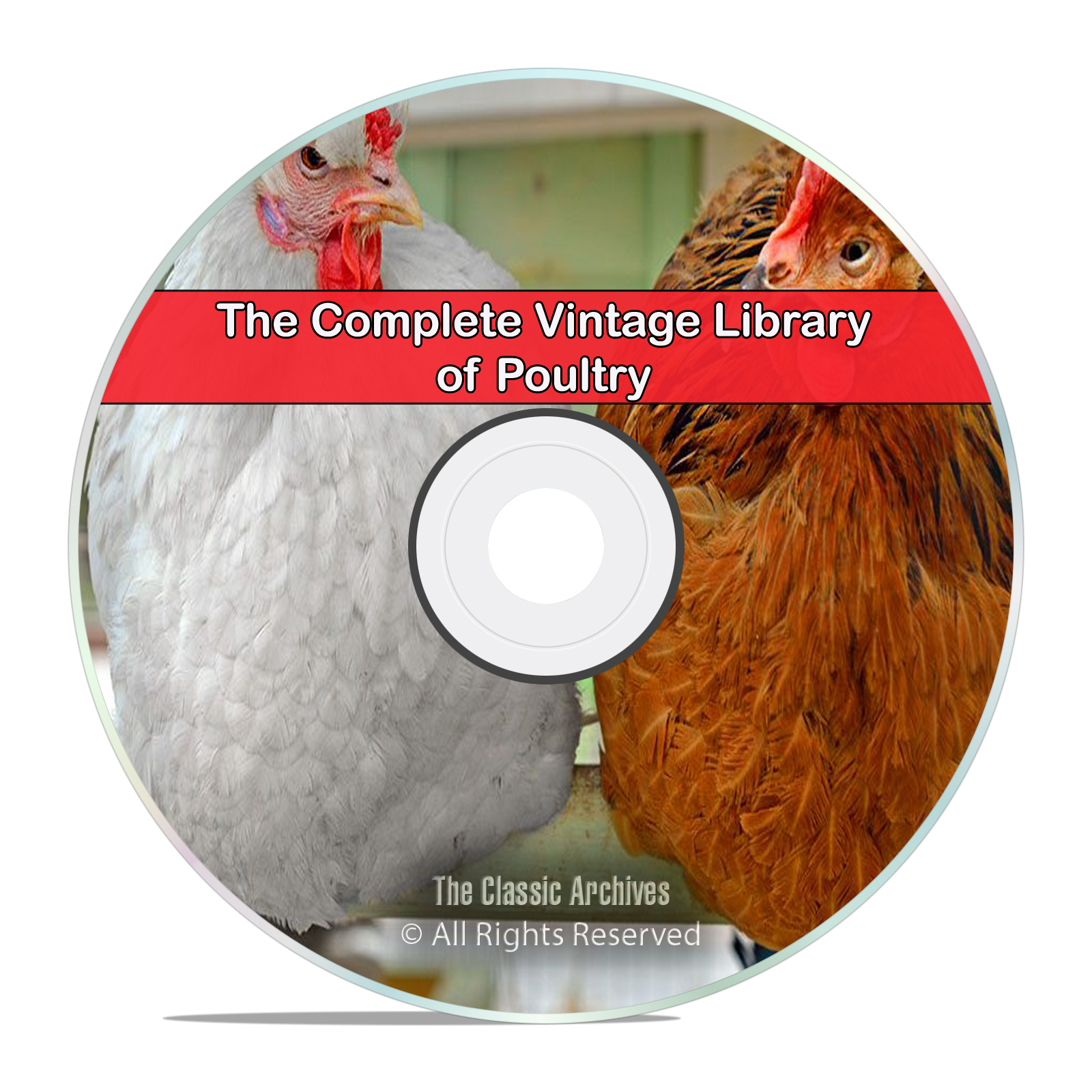 200 Books Library of Poultry, Chickens, Farming, Raise, Fowl, Squab, DVD