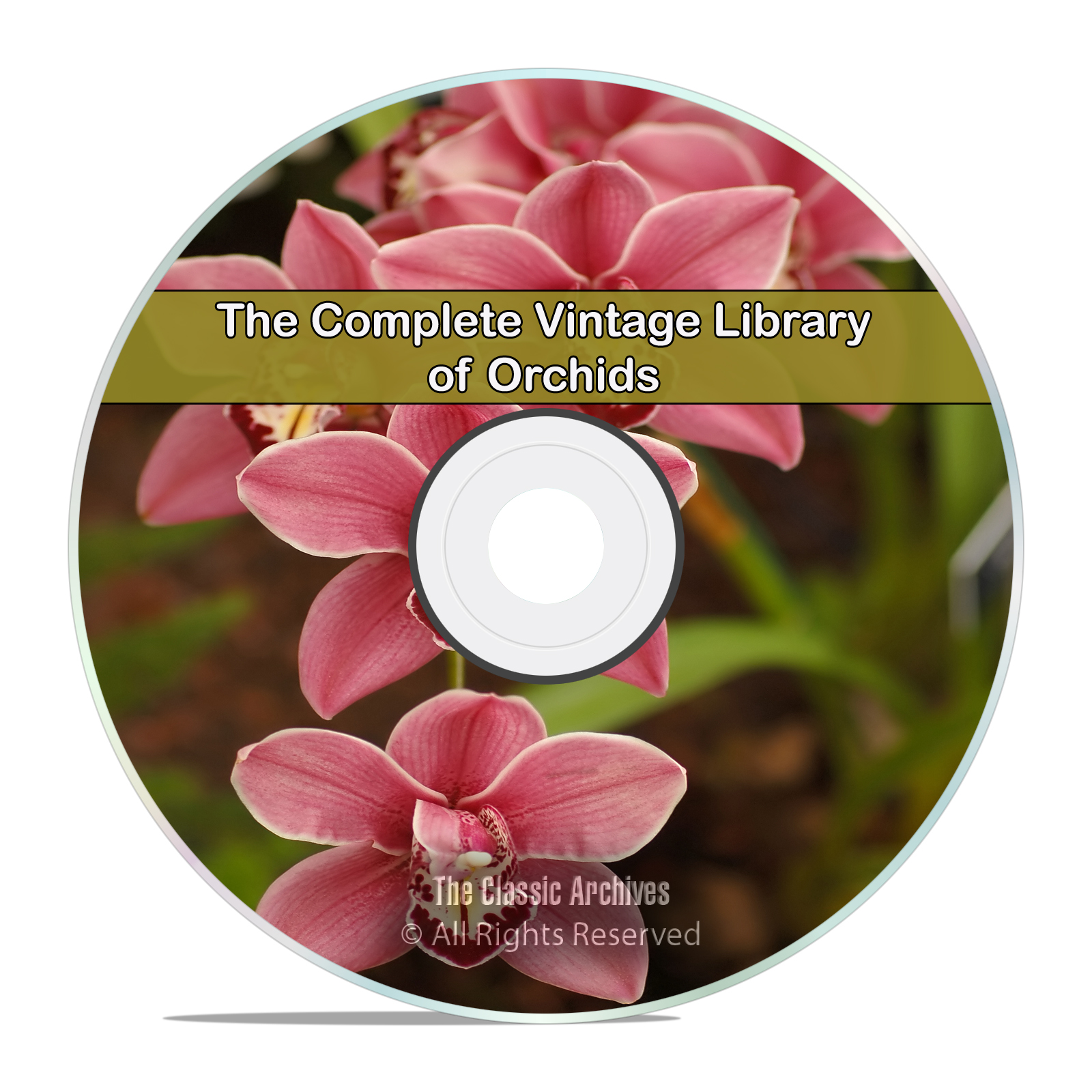 82 Books Library of Orchids, How To Grow, Orchid Review, Album PDF DVD