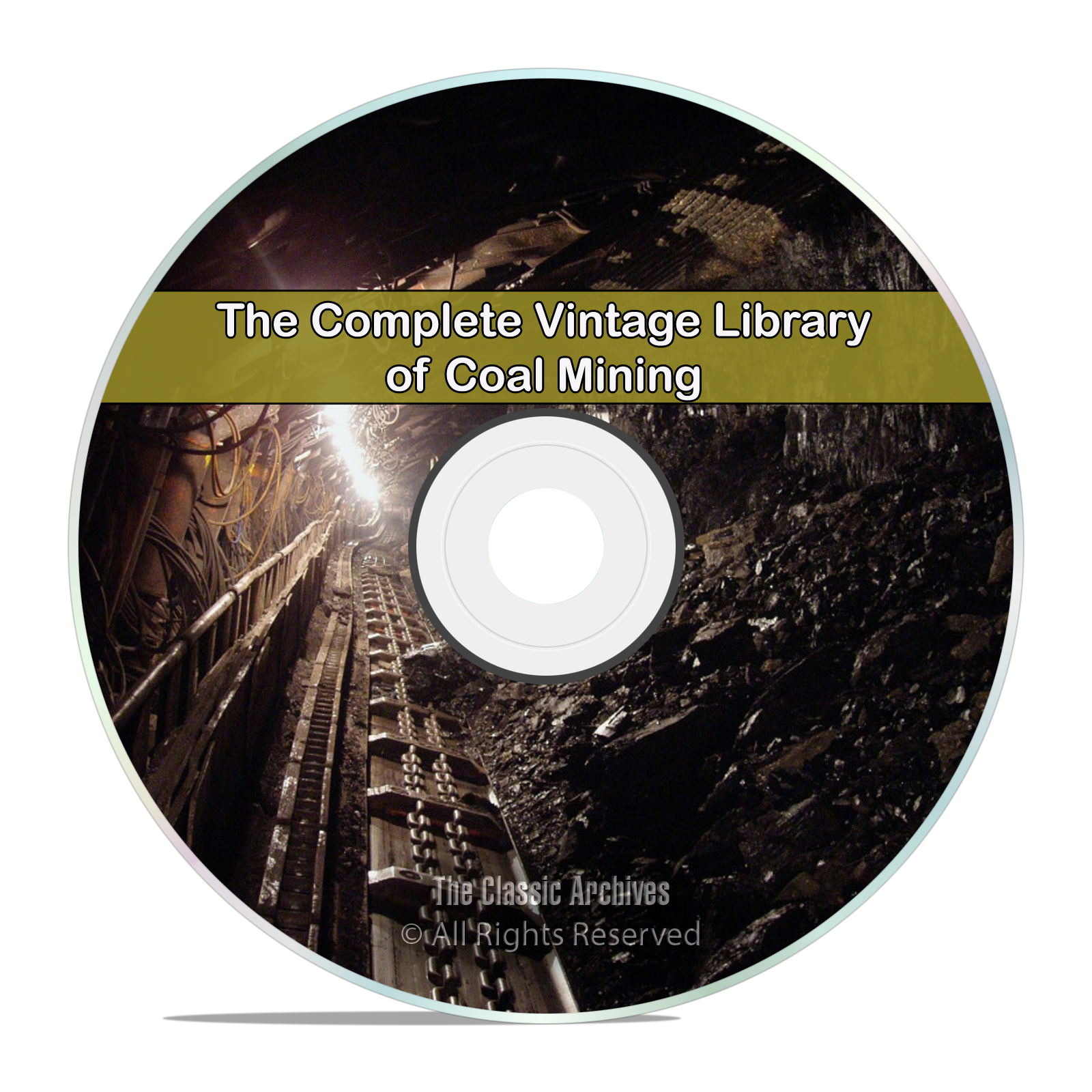 Library of Coal & Coal Mining, 105 Books, Methods History Miners PDF DVD