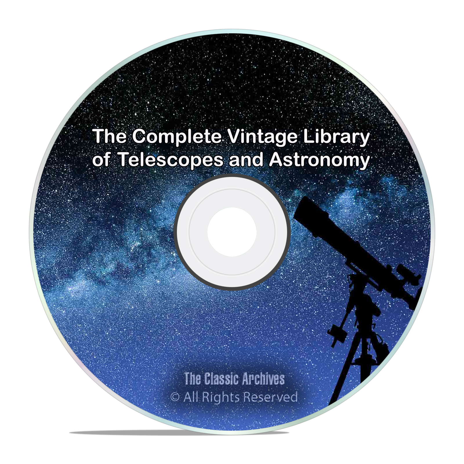 Library of Telescopes & Astronomy, 231 Books, Stars Astronomer PDF DVD