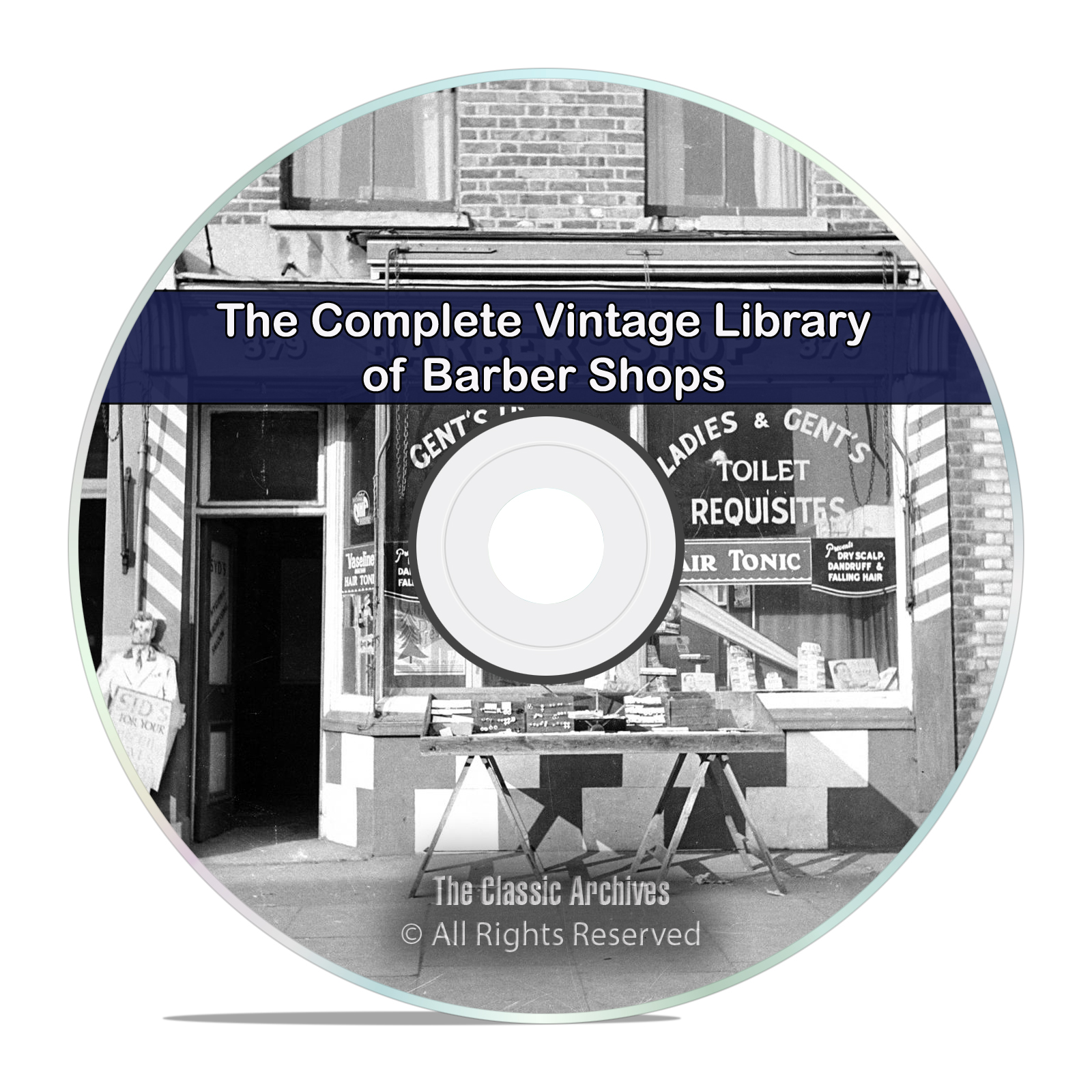 Barber Shop Library, 23 Books, Vintage Barber Hair Hairdressing, PDF CD