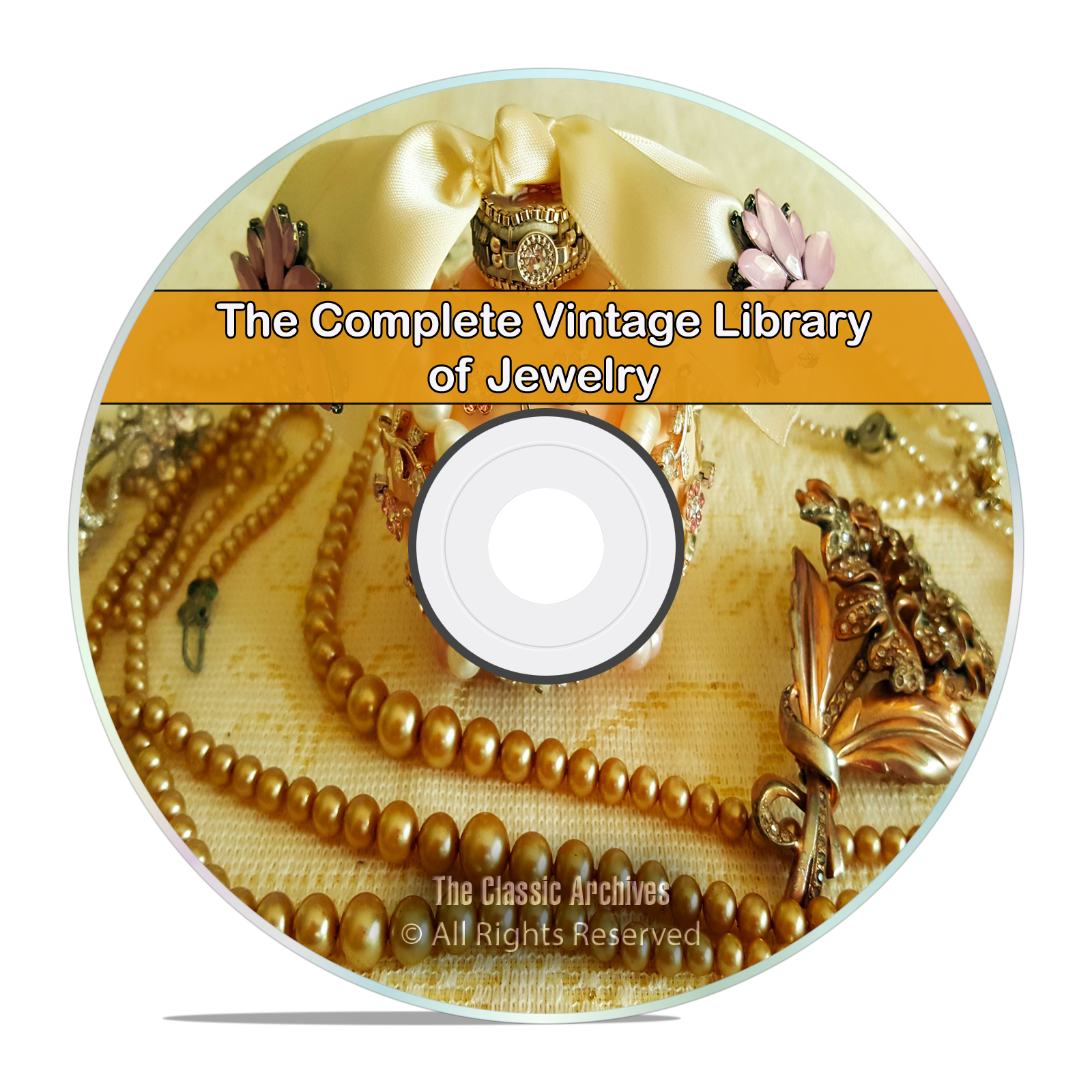 Library of Jewelry, 75 Books, Catalogs, How to Make Gold Silver Stones DVD