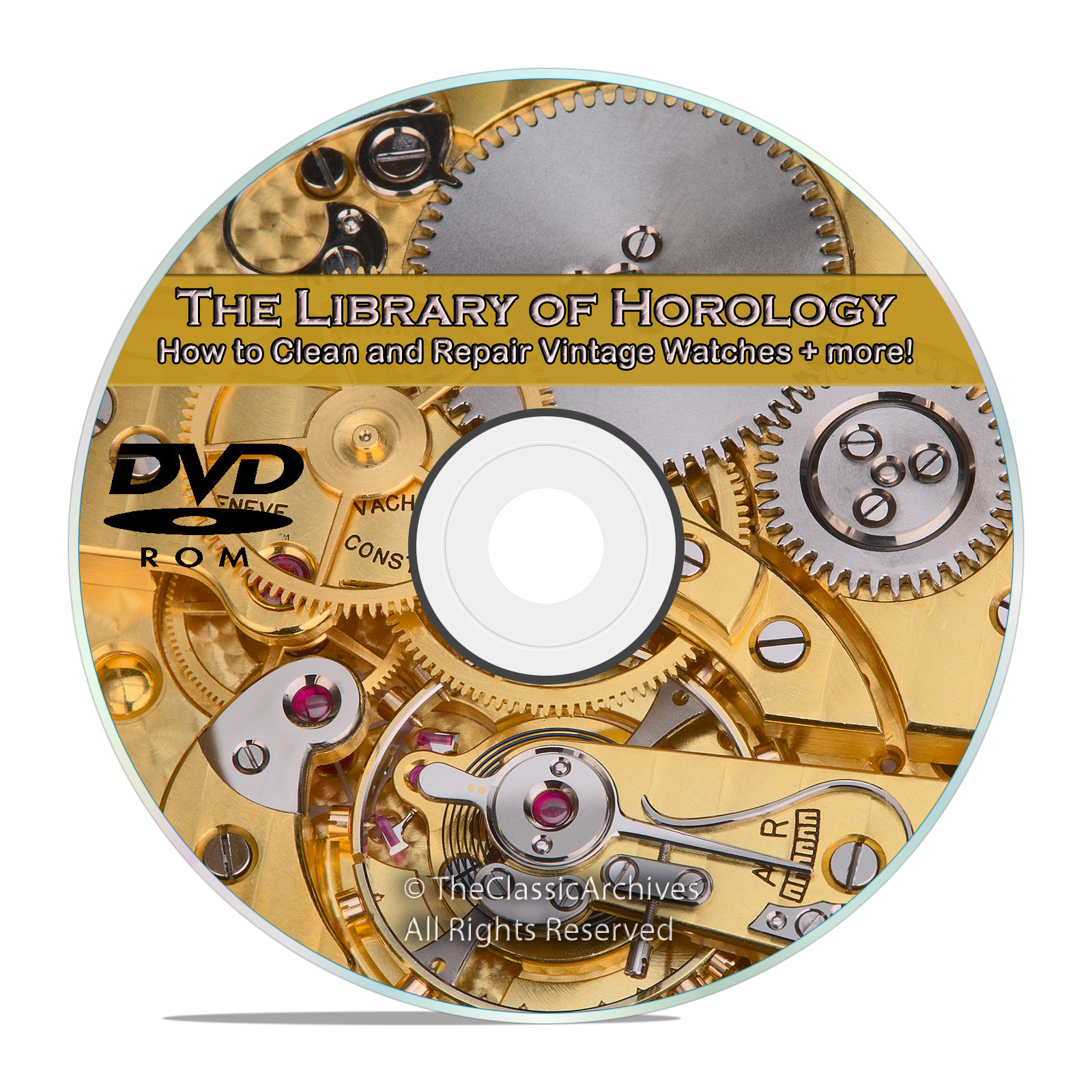 How to Make and Repair Vintage Watches, Vintage Horology Collection DVD