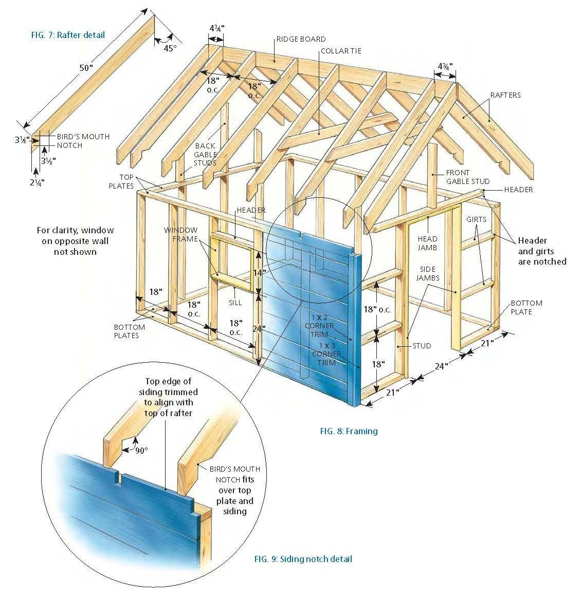 Free deluxe tree house plans for Free cupola blueprints