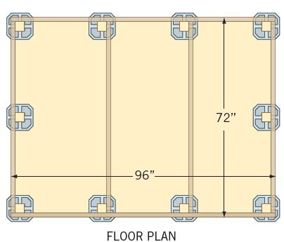 storage sheds floor plans