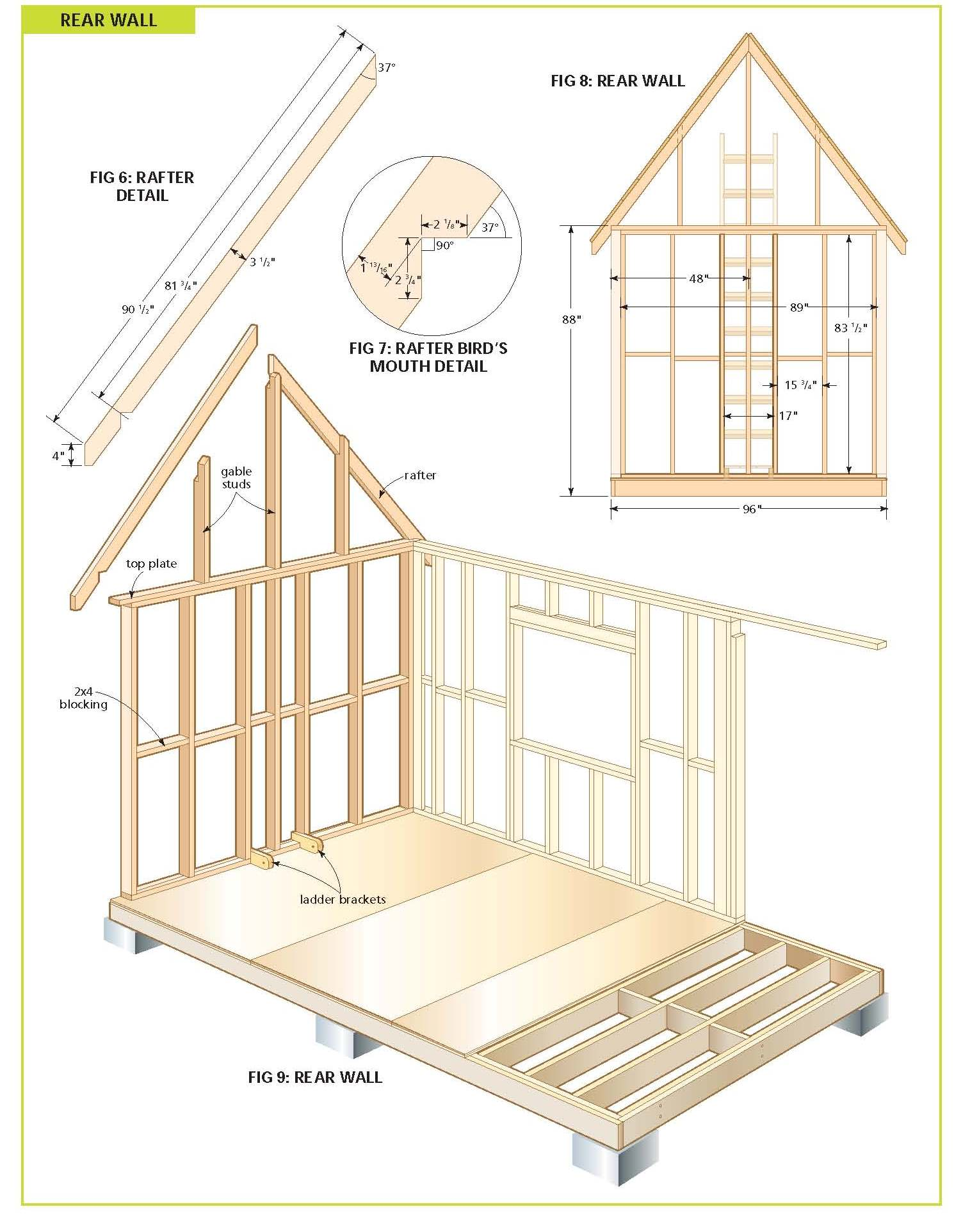 Free wood cabin plans free step by step shed plans Building plans for cabins