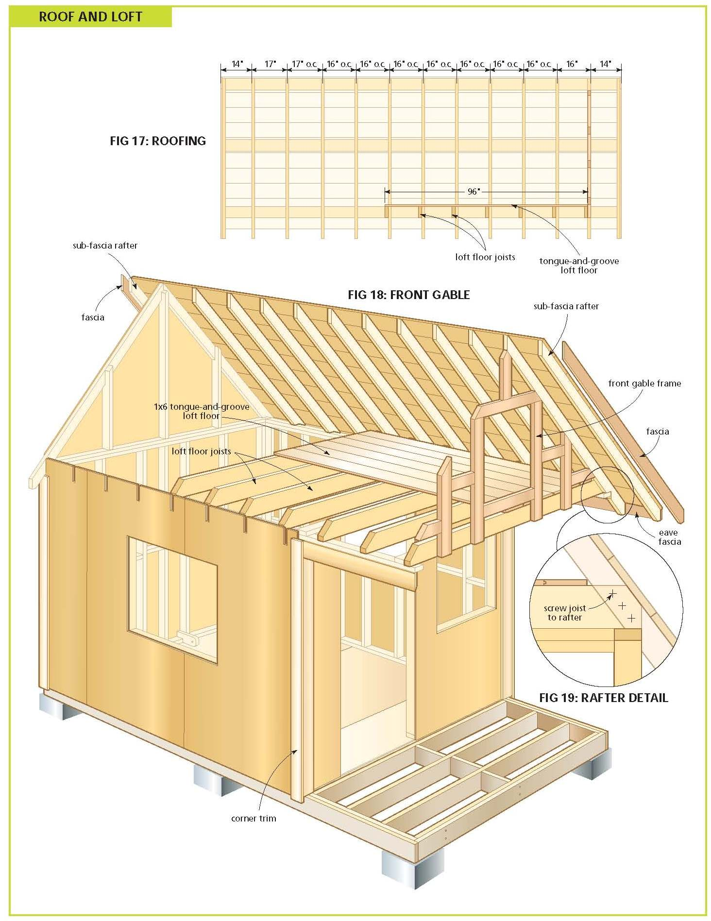 Free Wood Cabin Plans Step By Shed