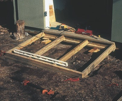 how to build a shed ramp plans | Woodworking Project Plan