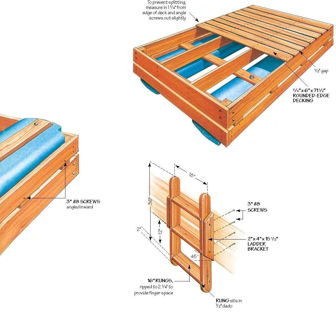 Woodwork How To Build Wood Raft Pdf Plans