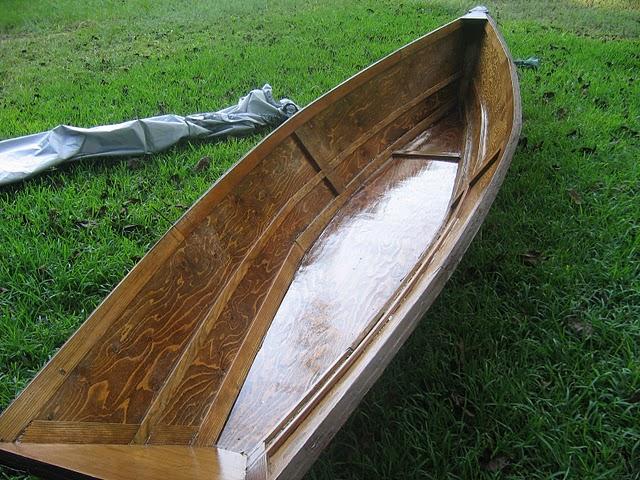 Lightweight row boat plans wilson for Plans for canoe