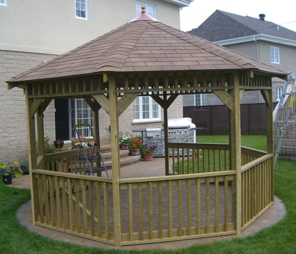 Free Do It Yourself Gazebo Design Ideas-Plans