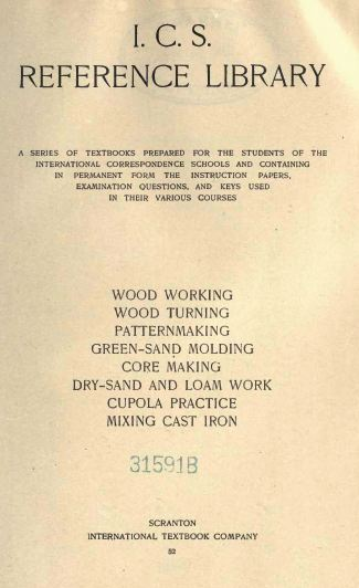 Woodworking Reference Textbook, 1901, Vintage Woodworking Book Download