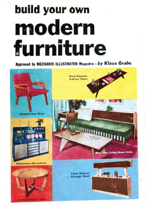 How To Build It Magazine 5 Furniture Woodworking Magazines Pdf Dvd