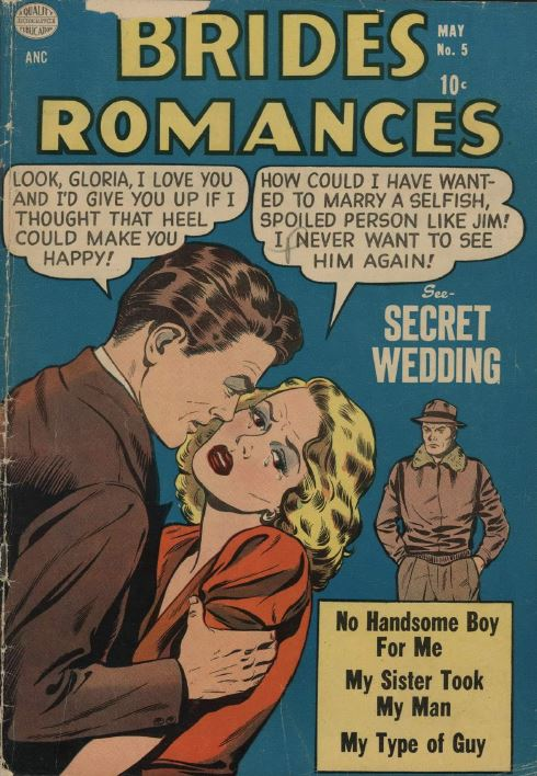 Romance  Love  Dating Comics  Vol 1  All Romances  Brides  Golden Age Dvd  Ca-d37