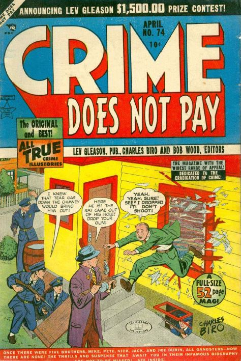 "The Brothers Sisters Essay ""Crime Doesn't Pay"""