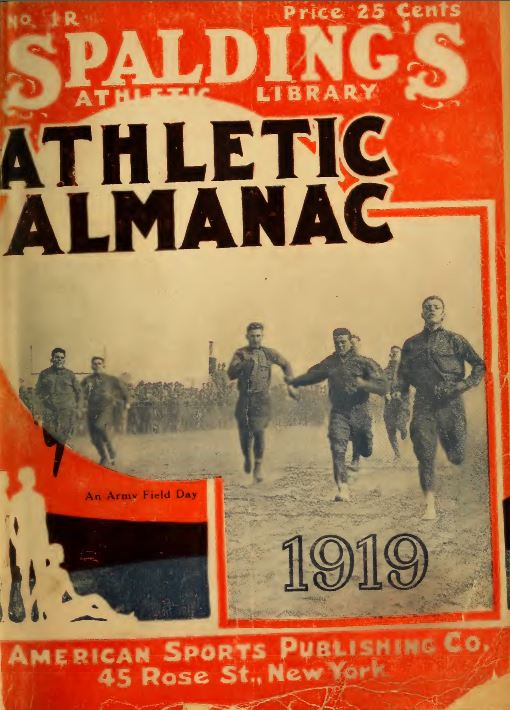 Spalding S Athletic Almanac 17 Volumes American Sports