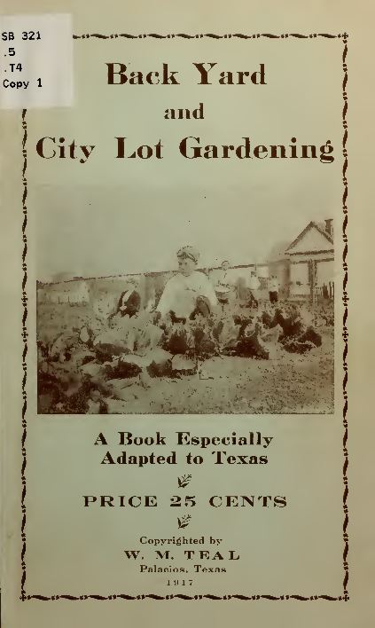 Vintage Gardening Books Library