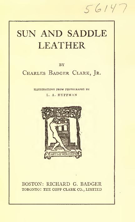 Vintage leatherworking leather Library