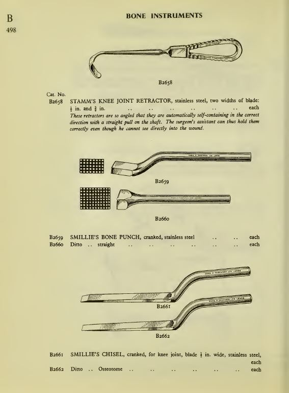 Vintage Surgical Instruments Library