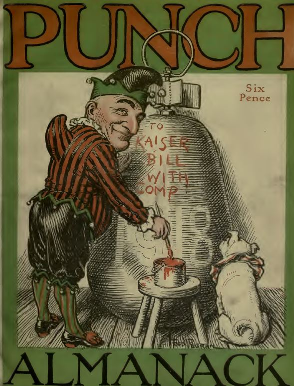 Vintage Punch Magazine Library