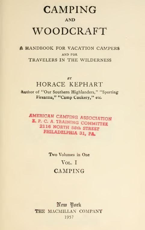 Camping and Survival Library