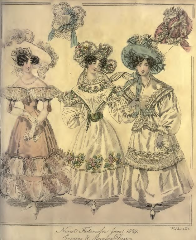 Vintage History of Fashion Books Library