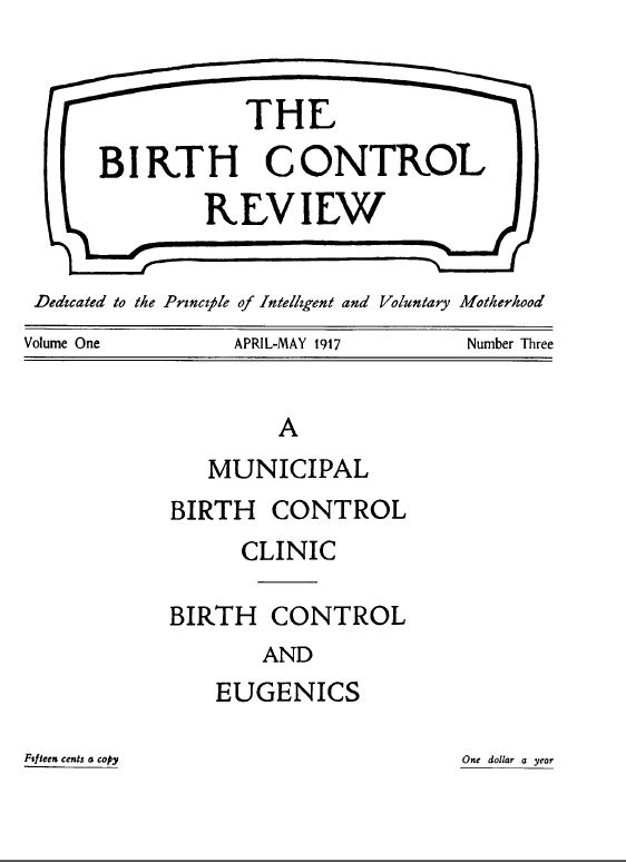 The Birth Control Review