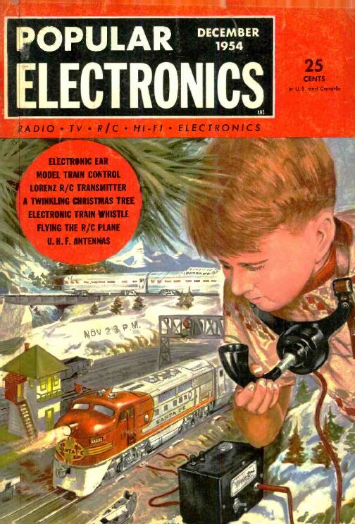 Electronics Illustrated Popular Electronics 378 Old Time
