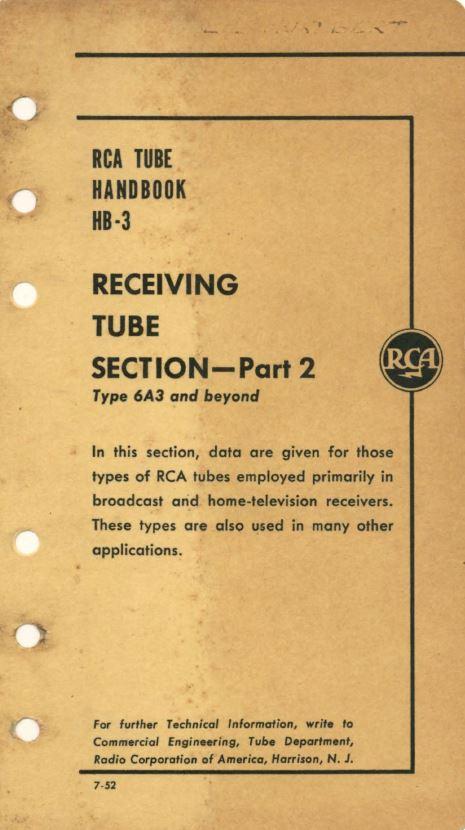 Radiotron handbooks