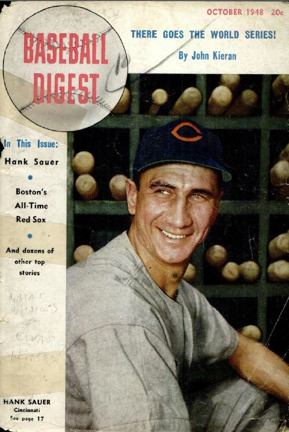 Baseball History books and baseball digest
