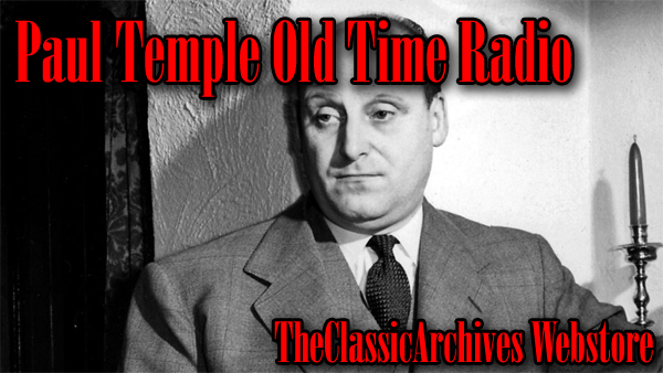 Paul Temple OTR Audiobooks