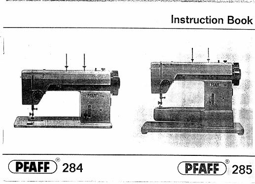 PFAFF Sewing Machine Library