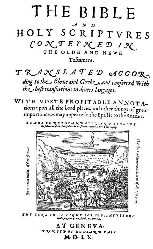 Geneva Bible 1560