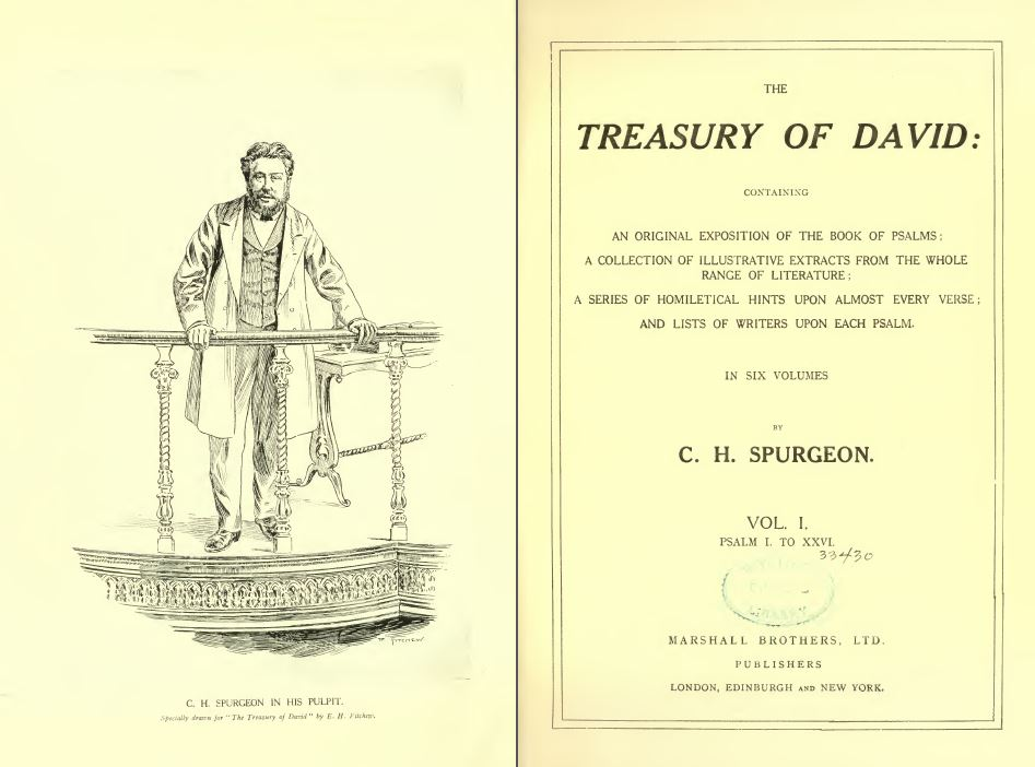 CH Spurgeon Treasury of David