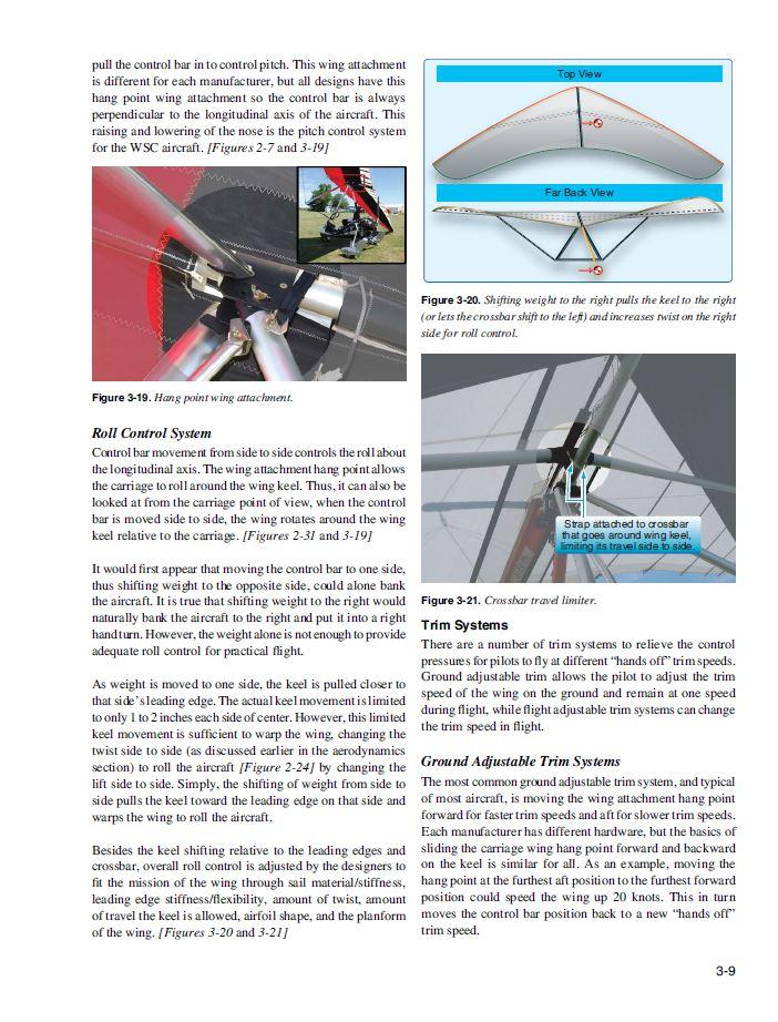 ultralight trike aircraft flying handbook hobby airplanes weight control cd ca