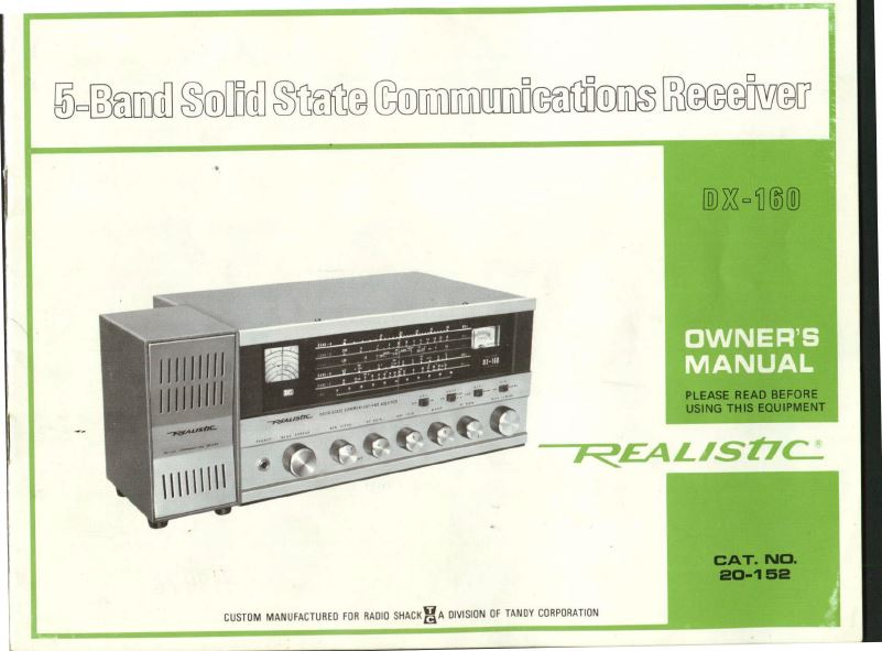 Vintage Radio Receiver, Transceiver, Scanner Manuals Schematics