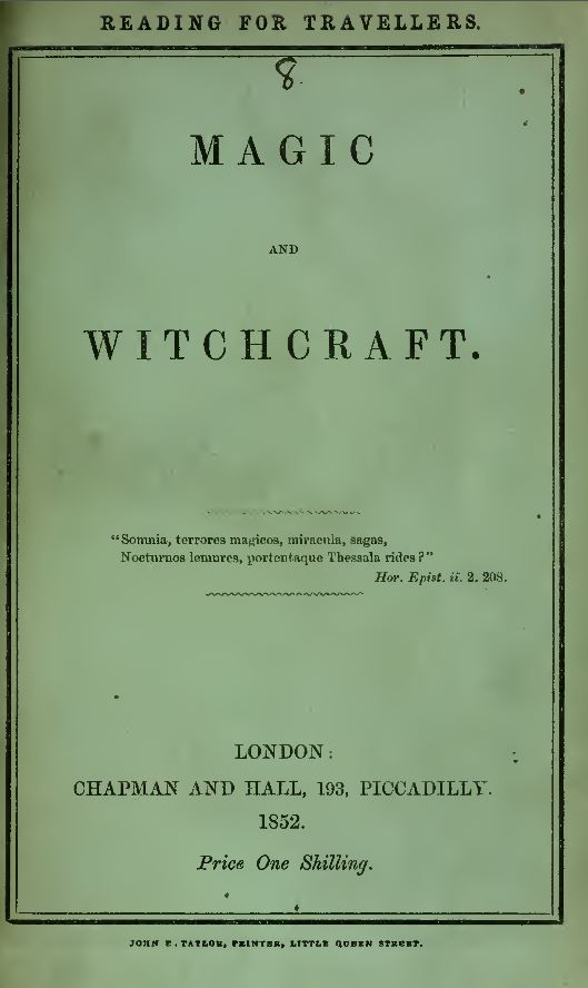 Witchcraft and Occult Library