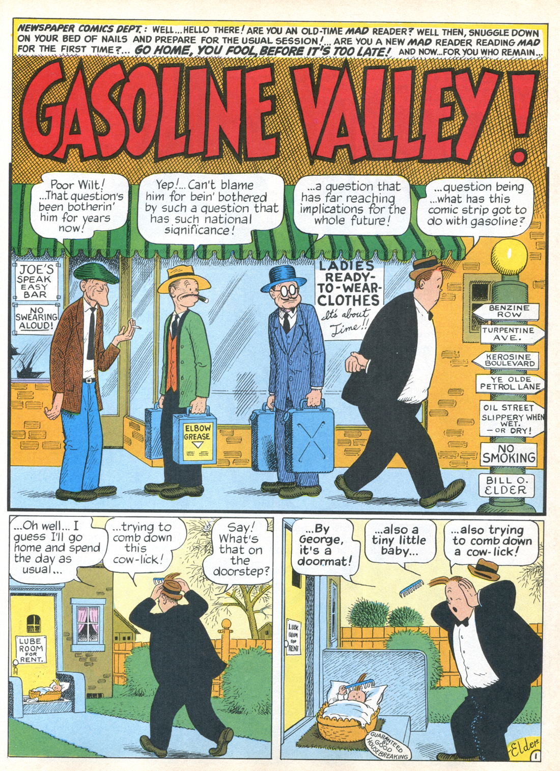 Gasoline Alley old time radio