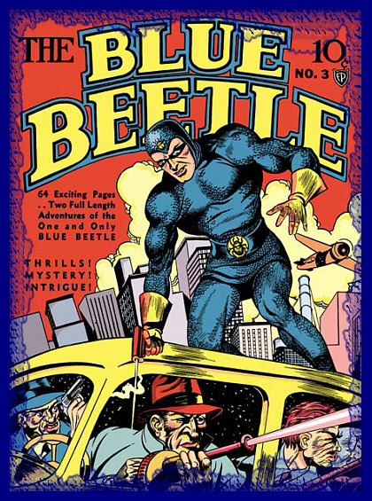 Blue Beetle old time radio