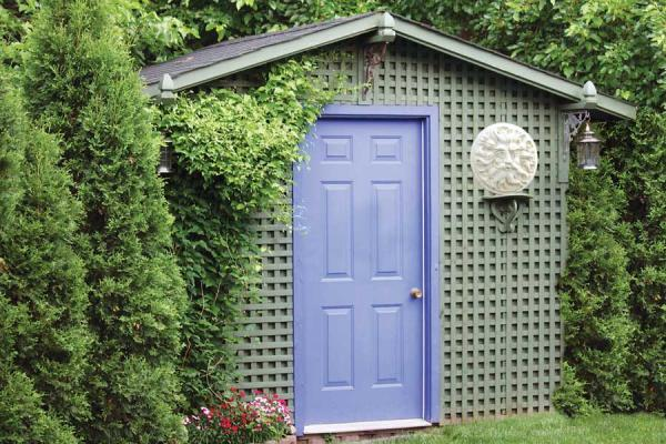 Free Backyard Garden Shed Plans